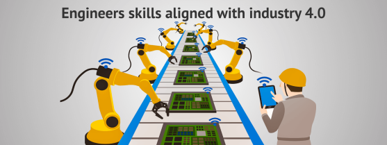 Engineers skills aligned with industry 4.0