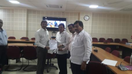Annamacharya Group Donated Rs. 2 Lakhs For Kerala Flood Relief
