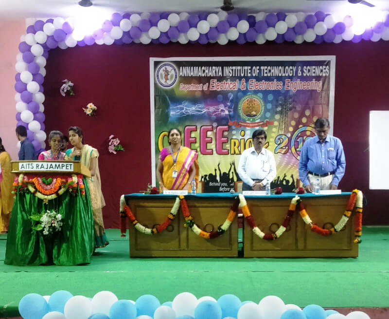 Magnificent farewell celebrations of EEE & IT Department