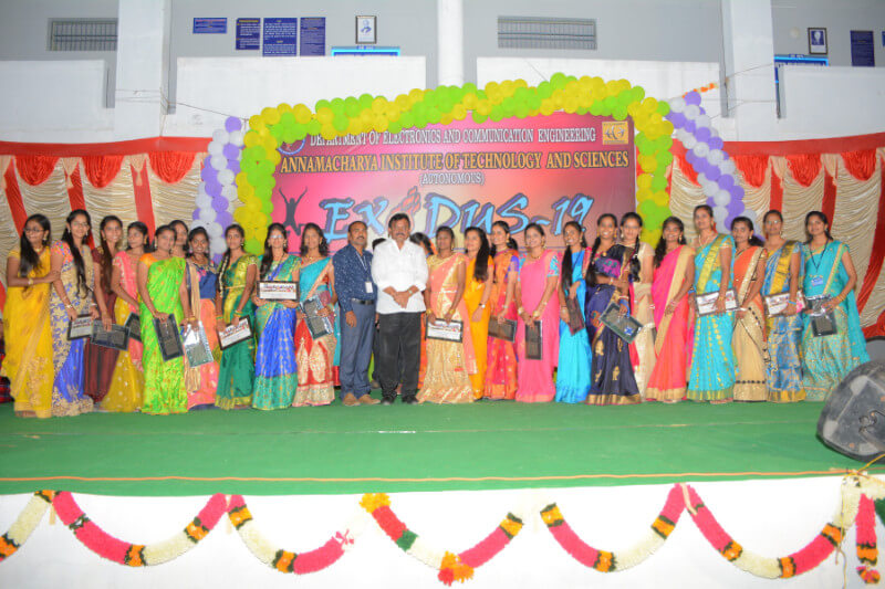Farewell Day Celebrations of ECE Department