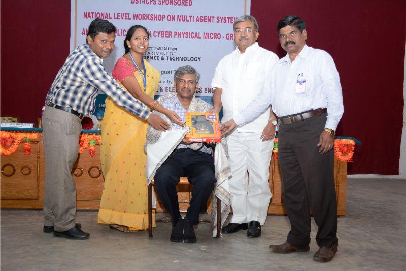 AITS, Rajampet Hosts National Level Workshop on Multi-agent System