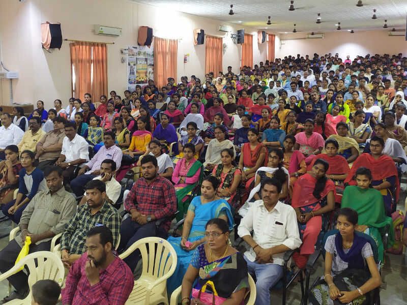 AITS, Rajampet Holds Orientation Programs for New Students