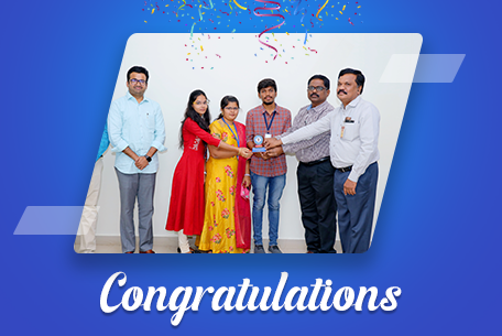 3 Students successfully placed in Eavetop Soft Tech Service Pvt.Ltd.